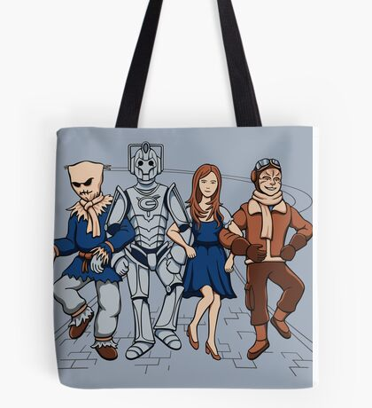 Wizard of Who Tote Bag