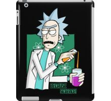Rick & Morty - Because Science! iPad Case/Skin