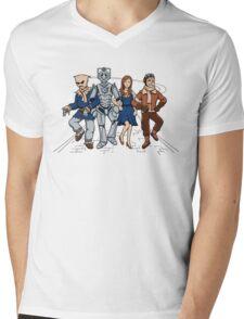 Wizard of Who Mens V-Neck T-Shirt