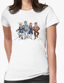 Wizard of Who Womens Fitted T-Shirt