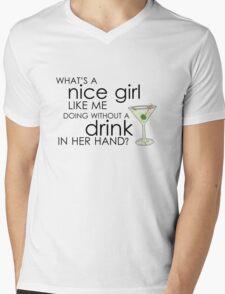nice girl Mens V-Neck T-Shirt