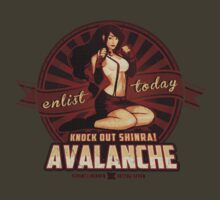 AVALANCHE Wants YOU! by MeganLara