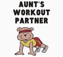 Aunt's Workout Partner Kids Tee