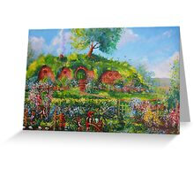 Summer In The Shire Greeting Card