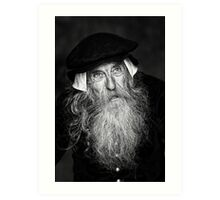 A Wise Old Man Art Print