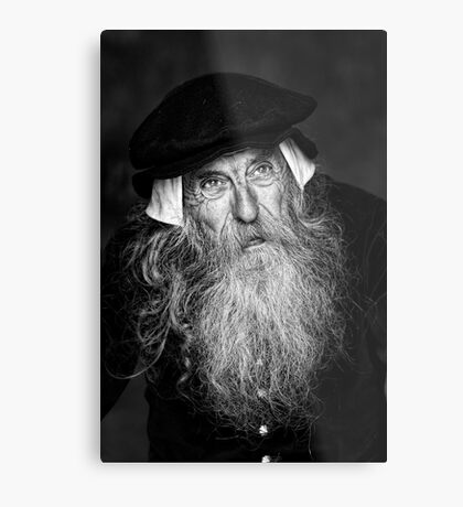 A Wise Old Man Metal Print