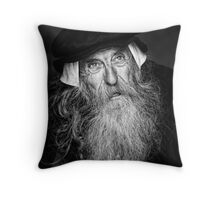 A Wise Old Man Throw Pillow