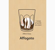 Coffee Addict, Affogato Unisex T-Shirt