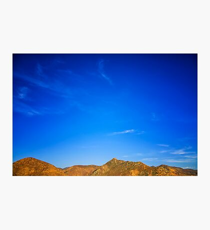 Ramona Mountains Photographic Print