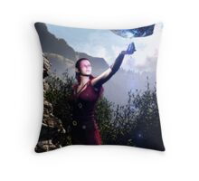 Water Of The Life Throw Pillow