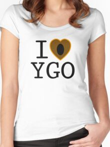I <3 YU-GI-OH! Women's Fitted Scoop T-Shirt