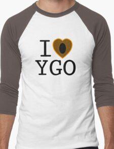 I <3 YU-GI-OH! Men's Baseball ¾ T-Shirt