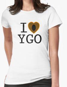 I <3 YU-GI-OH! Womens Fitted T-Shirt