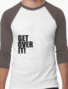 I love Jim Moriarty. Get over it! Men's Baseball ¾ T-Shirt