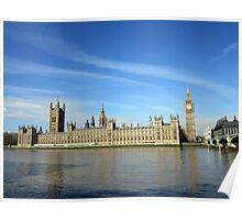 Parliament, London Poster