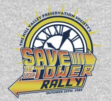 Save The Clock Tower One Piece - Long Sleeve