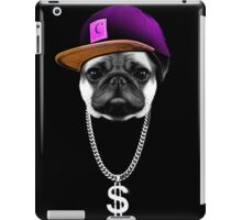 Hip hopper Pug iPad Case/Skin