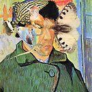 Van Gogh 3 Listening at Fish. by Andy Nawroski