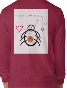 Pumpkin Donut Man Episode ¨The end?¨ Long Sleeve T-Shirt
