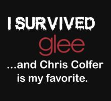 I survived glee...and Chris Colfer is my favorite. by Beatlemily
