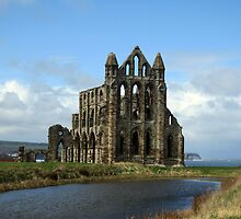 Whitby Abbey, North Yorkshire, England by crhodesdesign