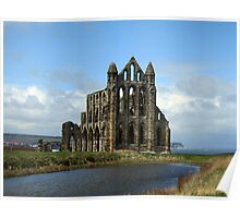 Whitby Abbey, North Yorkshire, England Poster