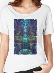 Waters Fall Women's Relaxed Fit T-Shirt