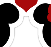 Disney Love Sticker