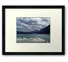 Many Glaciers - Glacier National Park Framed Print