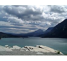 Many Glaciers - Glacier National Park Photographic Print