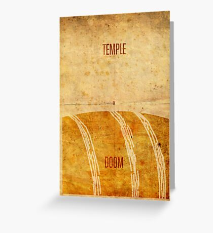 Temple (aged) Greeting Card