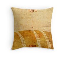 Temple (aged) Throw Pillow