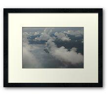 Clouds of Mann Framed Print