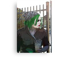 Ms. Joker Canvas Print