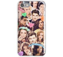 glee cast collage iPhone Case/Skin