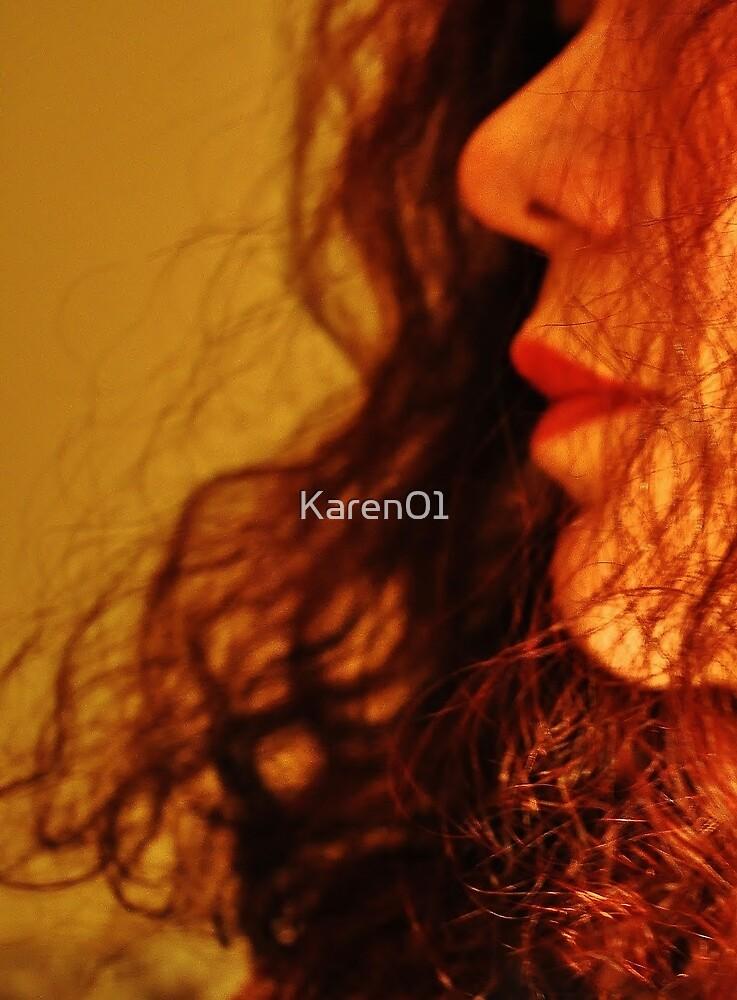 Fire dancer by Karen01