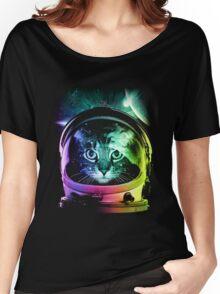 Astronaut Cat V.II Women's Relaxed Fit T-Shirt