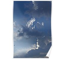 Sun through the Clouds Poster
