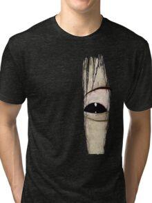 Sadako eye Tri-blend T-Shirt