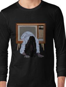 sadako's on the telly Long Sleeve T-Shirt