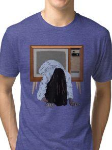 sadako's on the telly Tri-blend T-Shirt