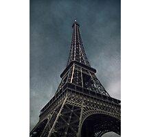 Apocalyptic Eiffel Tower Photographic Print