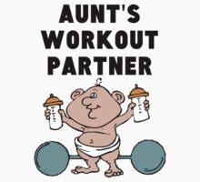 Aunt's Workout Partner One Piece - Short Sleeve