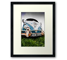 Volks Wagon Van Framed Print