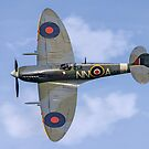 Spitfire LF.Vc AR501/NN-A G-AWII by Colin Smedley