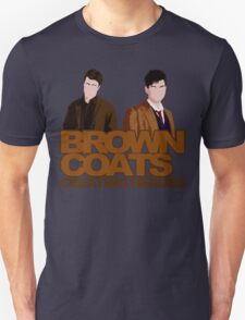 Brown Coats Unisex T-Shirt