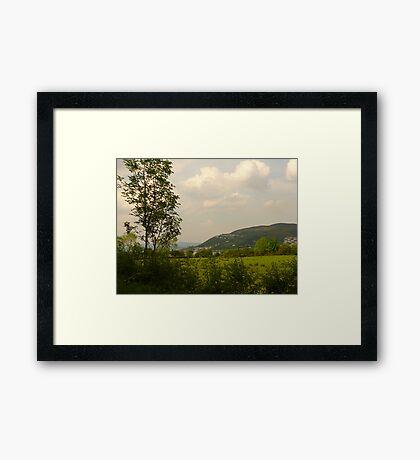 Quiet Backroads Framed Print