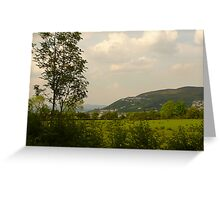 Quiet Backroads Greeting Card
