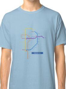 Manila Metro Map Classic T-Shirt