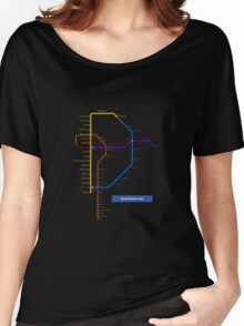 Manila Metro Map Women's Relaxed Fit T-Shirt